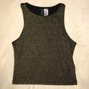 Sparkly Gold Tank Top
